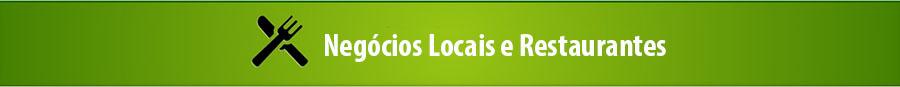 Negocios locais e restaurantes